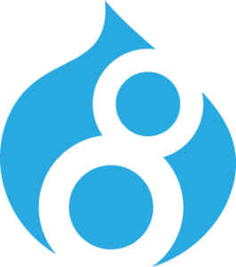 drupal 8 logo isolated CMYK 72